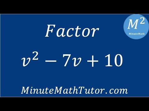 Factor V2 7v 10