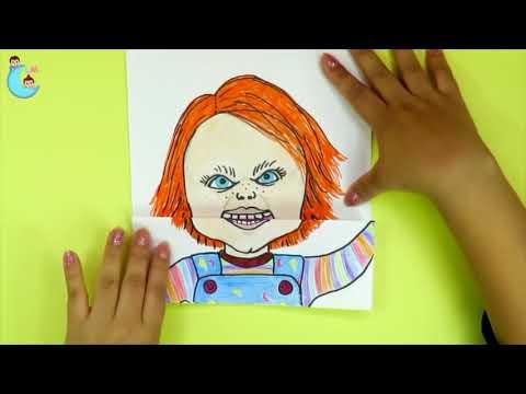 Crea tu personaje que abre la boca Pennywise Badpiggies Jigsaw Chucky
