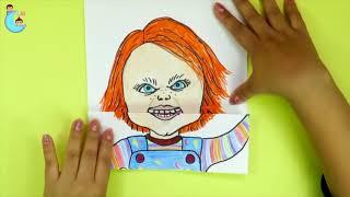 - Crea tu personaje que abre la boca Pennywise Badpiggies Jigsaw Chucky