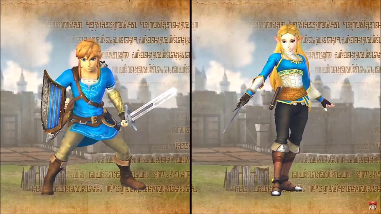 Hyrule Warriors Gameplay Footage Of Breath Of The Wild Link Zelda Miketendo64