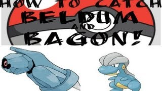 How to Catch Beldum and Bagon in Pokemon Emerald!