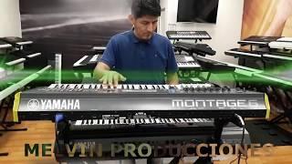 Yamaha Montage 6 - Cumbia Perucha