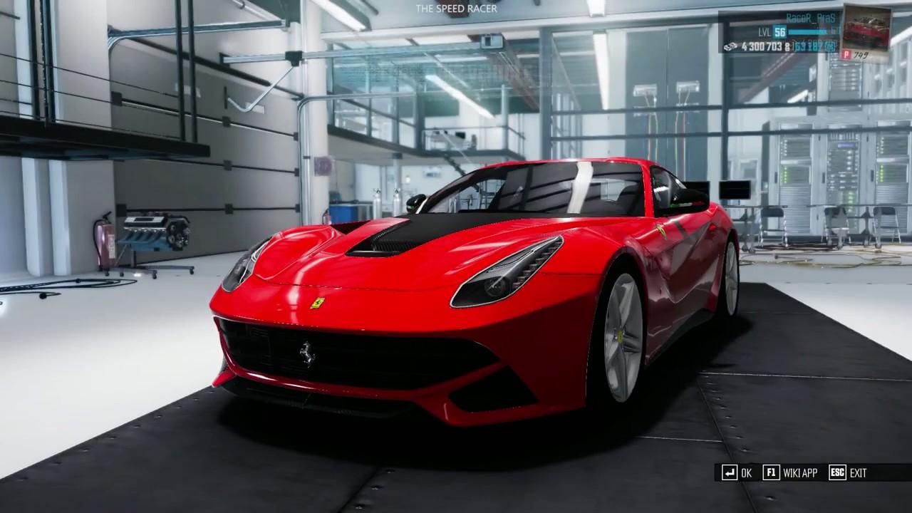 The Crew Calling All Units Customizing My Ferrari F12 Berlinetta