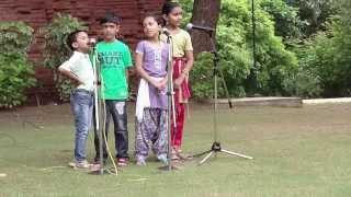 Aao Bachcho Tumhe Dikhaye, Action Song by NID Campus Kids 15 Aug 2013