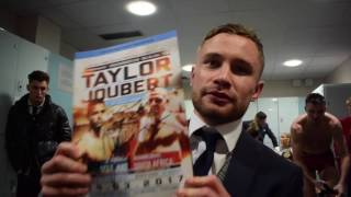 WORLD CHAMPIONS NOW HE CAN BEAT' - CARL FRAMPTON ON JOSH TAYLOR & CONFIRMS HIS NEXT FIGHT IN BELFAST