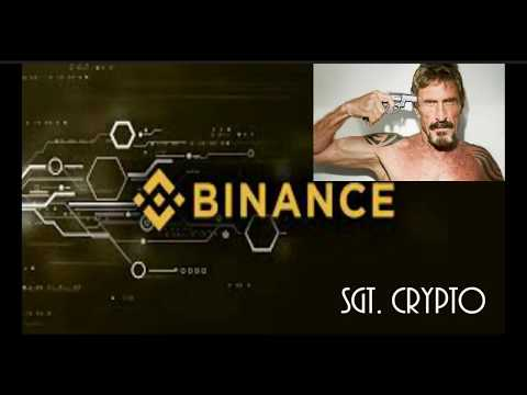 Binance Exit Scam?! John McAfee spreading FUD!!