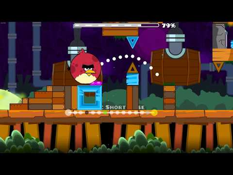 Angry Birds in Geometry Dash