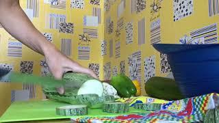 Овощи в духовке.