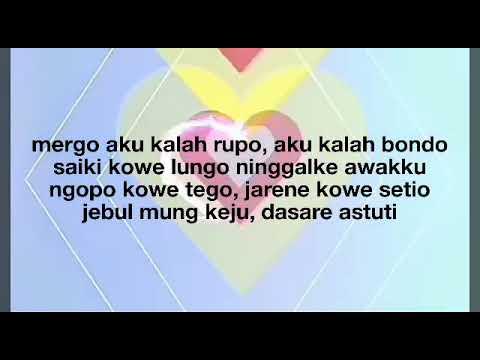 (  lirik )  Astuti ( asli tukang tipu) - Via Vallen