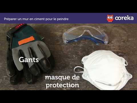 Préparer Un Mur En Ciment Pour Le Peindre (Ooreka.fr)