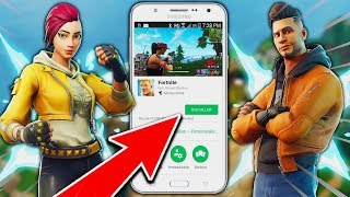 "COMMENT ""TÉLÉCHARGER"" FORTNITE ANDROID ""GRATUITEMENT"" sur FORTNITE Battle Royale ! 😱"
