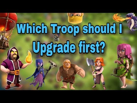 Which Is The Best Troop To Upgrade First? (FOR EVERY TOWNHALL GUIDE)   Clash Of Clans