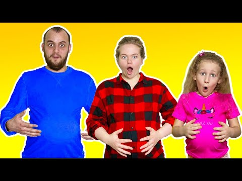We Ate Too Much | Anuta Kids Channel