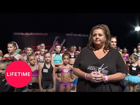 Dance Moms: Abby's Orlando Open Call (Season 4 Flashback) | Lifetime