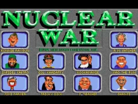Let's Play: Nuclear War (Amiga)