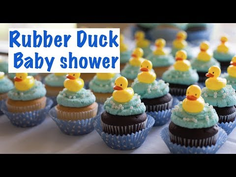 18 GREAT PARTY FAVORS || Rubber Duck Baby Shower || DIY