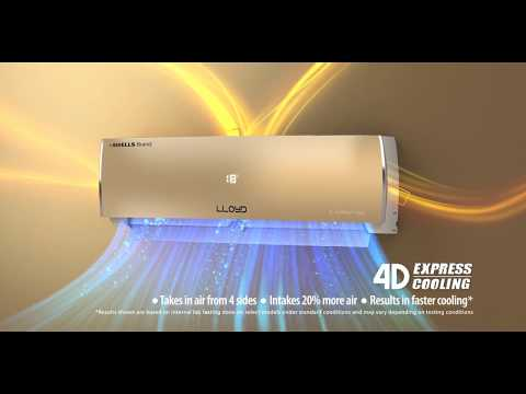 Lloyd WiFi inverter AC with 4D Express Cooling