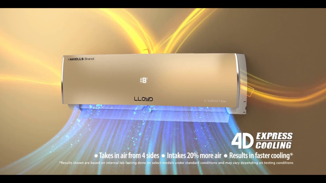 9dd094d35f8 Lloyd WiFi inverter AC with 4D Express Cooling - YouTube