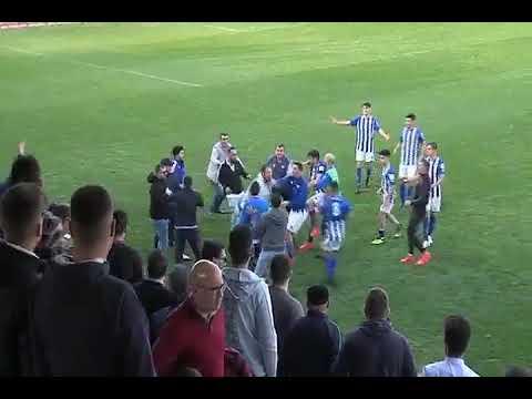 VIDEO: Así fue la horrible pelea entre el Jerez y el Ecija