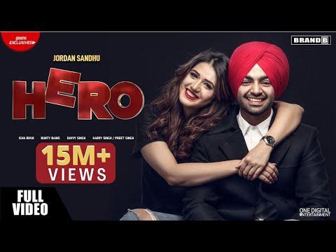 Hero | Jordan Sandhu | Isha Rikhi | Bunty Bains | Davvy Singh | Latest Songs 2018 | Brand B