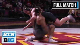 HWT: Christian Lance (Nebraska) vs. #1 Gable Steveson (Minnesota) | 2020 B1G Wrestling