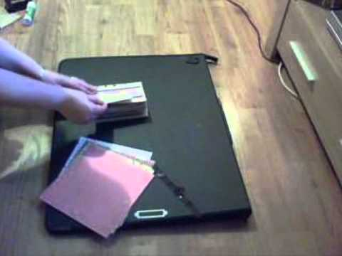 How To Make A Paper Bag Scrapbookwmv Youtube