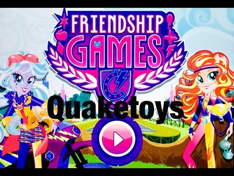 New Update My Little Pony Equestria Girls MLP Friendship Games App Scanning Motocross Bike Sunset