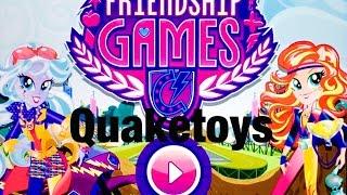 New Update My Little Pony Equestria Girls MLP Friendship Games App Scanning Motocross Bike Sunset
