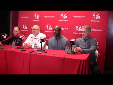 Tom Allen introduces his new offensive coaches