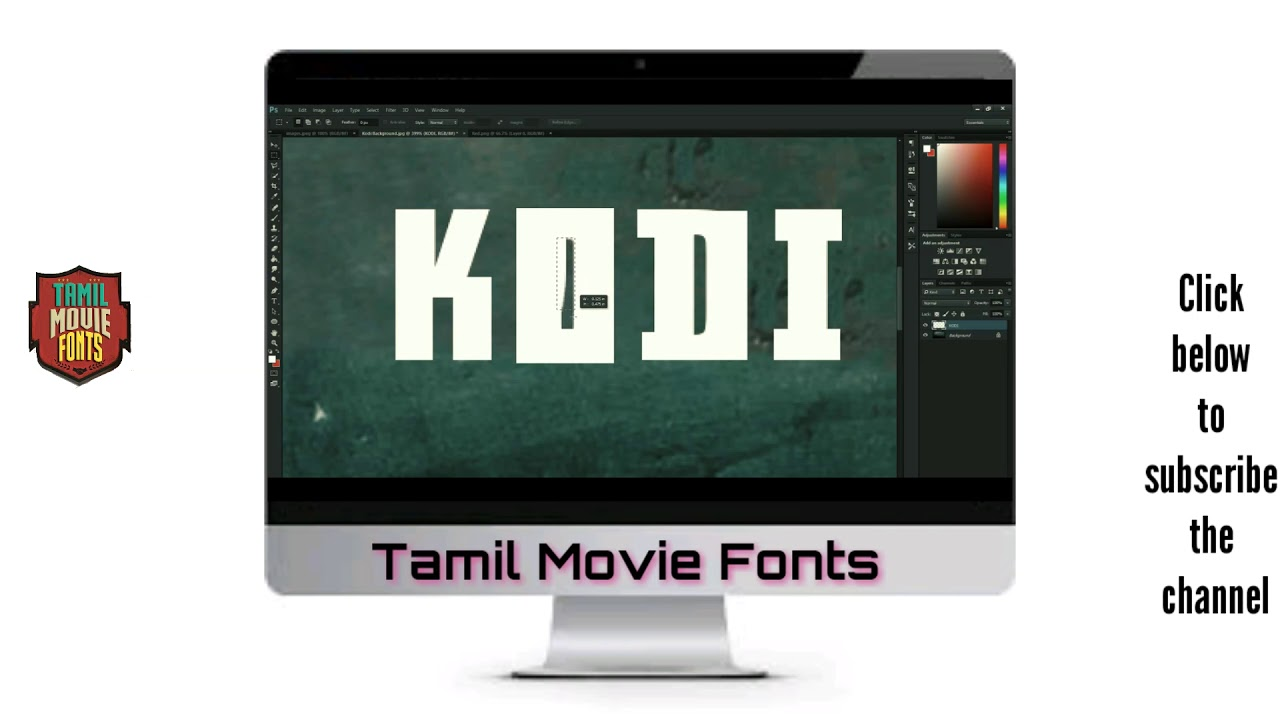 Tamil Movie Fonts For Picsart