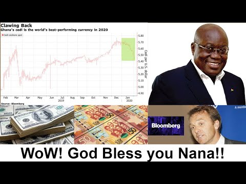 WoW! Ghana Cedi Beats 140 Other Currencies To Become The Year's Biggest Winner Against U.S. Dollar