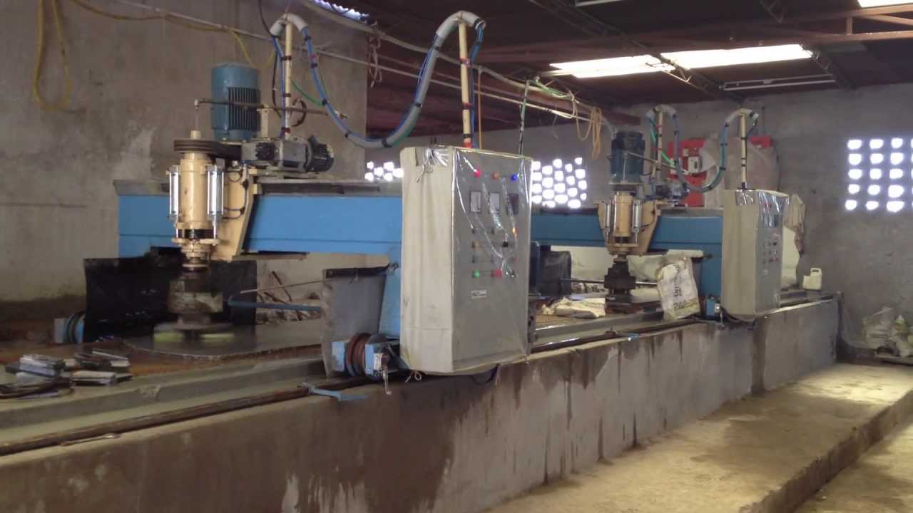 semi polishing machine