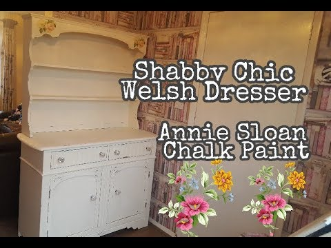 Upcycled Welsh Dresser Shabby Chic Annie Sloan Chalk Paint