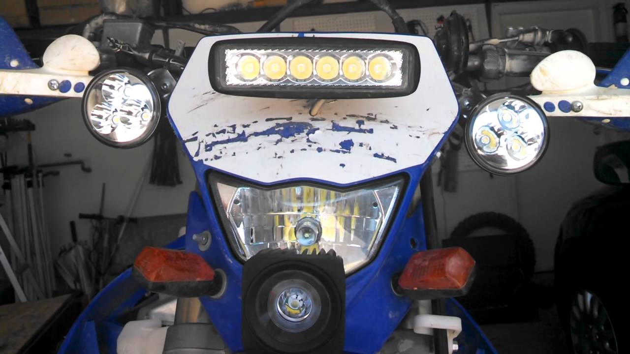 Cheap Bright Reliable LED Lights for DirtBike MOD 5QJ8H