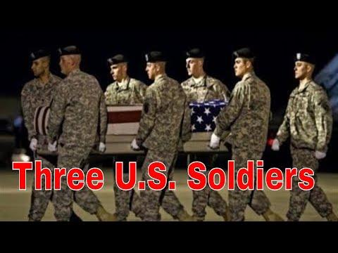 Three U.S. Soldiers Killed in Niger in Suspected Ambush