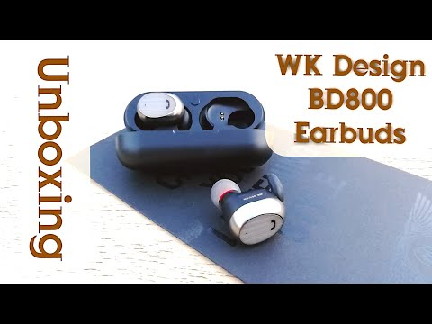 BD-800 WK Design Wireless Earbuds Unboxing & Overview