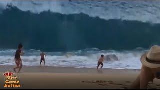 People Slammed By Massive Waves 6
