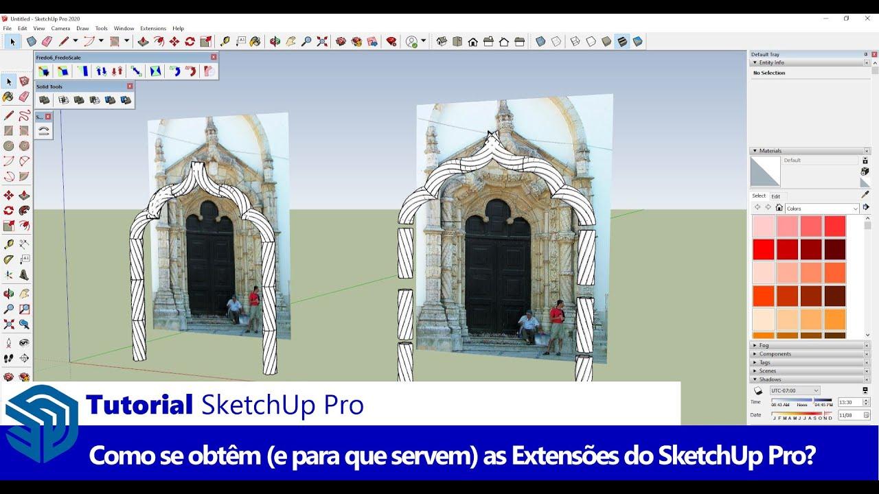 As melhores extensões GRATUITAS para o SketchUp - SketchUp Portugal