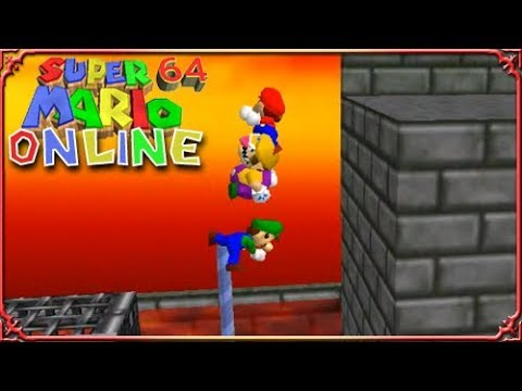 WE CAN'T CO EXIST! Super Mario 64 Online Multiplayer Part 4