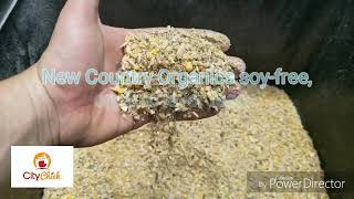 New Country Organics soy-free, organic layer feed