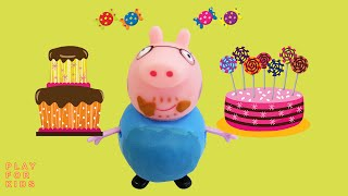 Свинка Пеппа. Мама Свинка посадила на диету Папу Свина | Peppa Pig, videos with toys