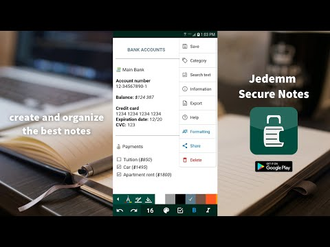 Secure Notes: private notes and lists - Apps on Google Play
