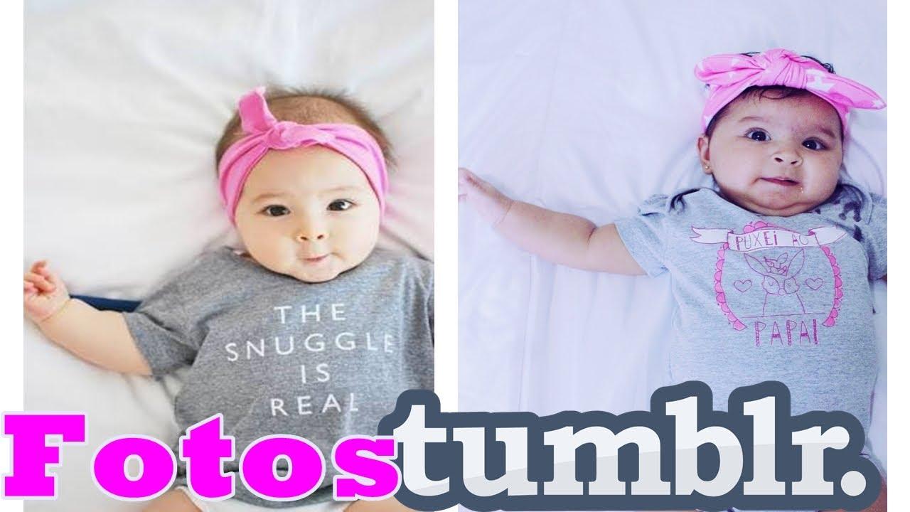 IMITANDO FOTOS TUMBLR De Bebê Em Casa- Parte 2