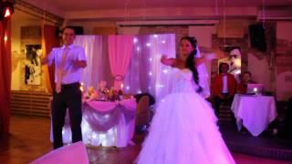 Свадебный танец с сюрпризом. Семья Липко. 05.09.2014