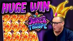 INSANE WIN on Joker Troupe! (Red Joker Free Spins)