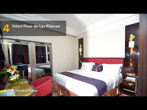 🔴 Best 4 star Hotels in Dakar, Senegal