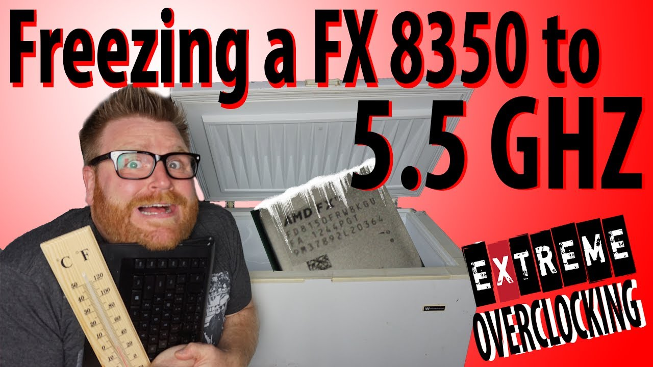 Forget Ryzen AMD FX freezes to EXTREME OVER CLOCKS DUDE!
