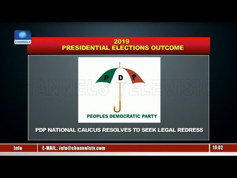 Political Round Up: PDP Seeks Legal Redress Over Presidential Result |Politics Today|