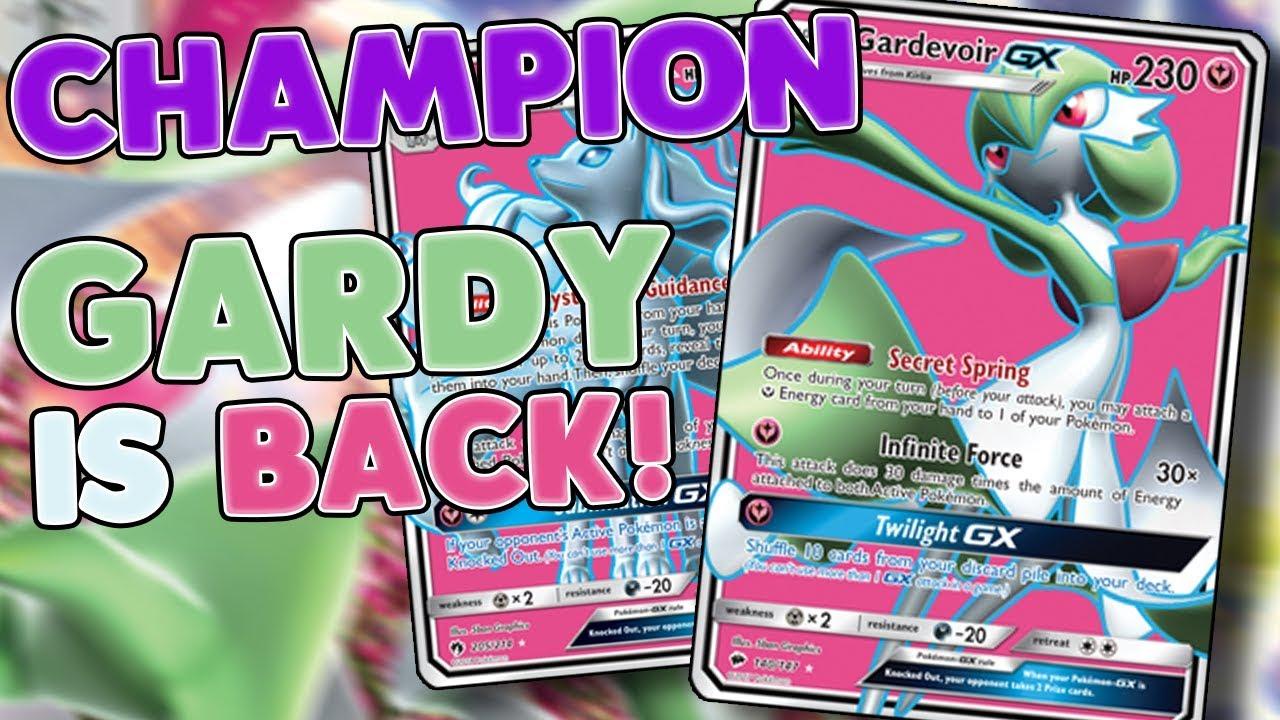 Gardevoir Milk champion! gardevoir gx is back! triple stage 2 deck profile! [pokemon tcg  online]