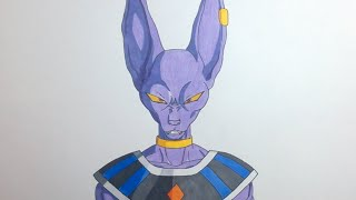 Drawing Beerus/ Bills / ビルス - Dragon Ball Super